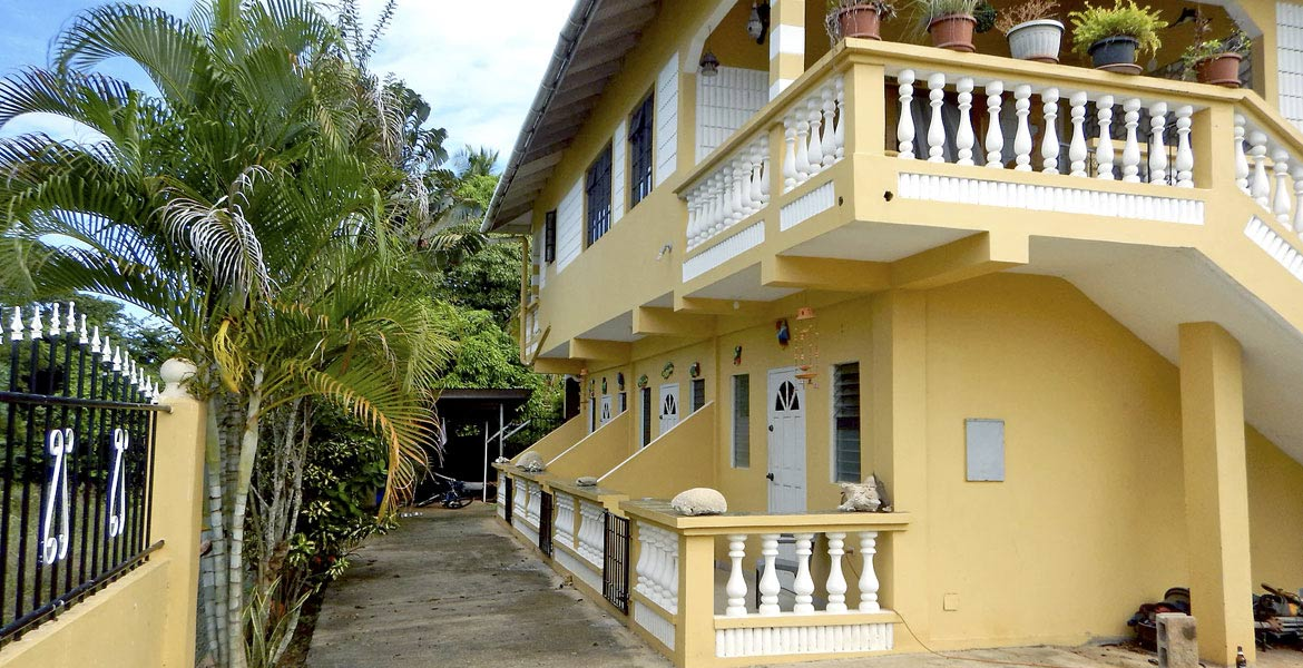 Dimple's Apartments - a myTobago guide to Tobago holiday accommodation
