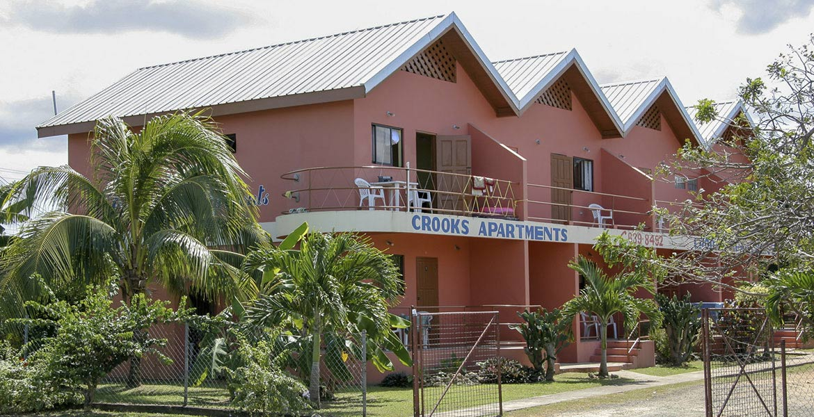 Crooks Apartments - a myTobago guide to Tobago holiday accommodation