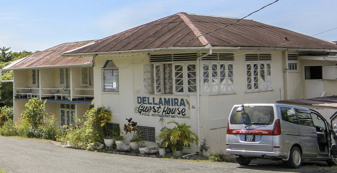 Della Mira Guesthouse - a myTobago guide to Tobago holiday accommodation