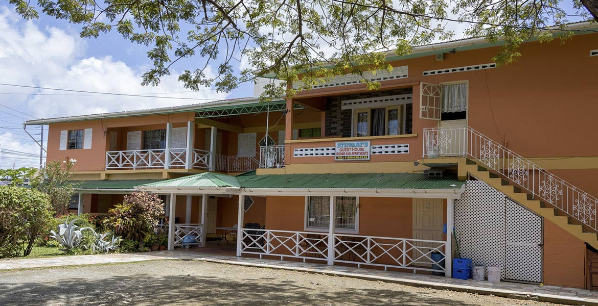 Stewart's Guesthouse - a myTobago guide to Tobago holiday accommodation
