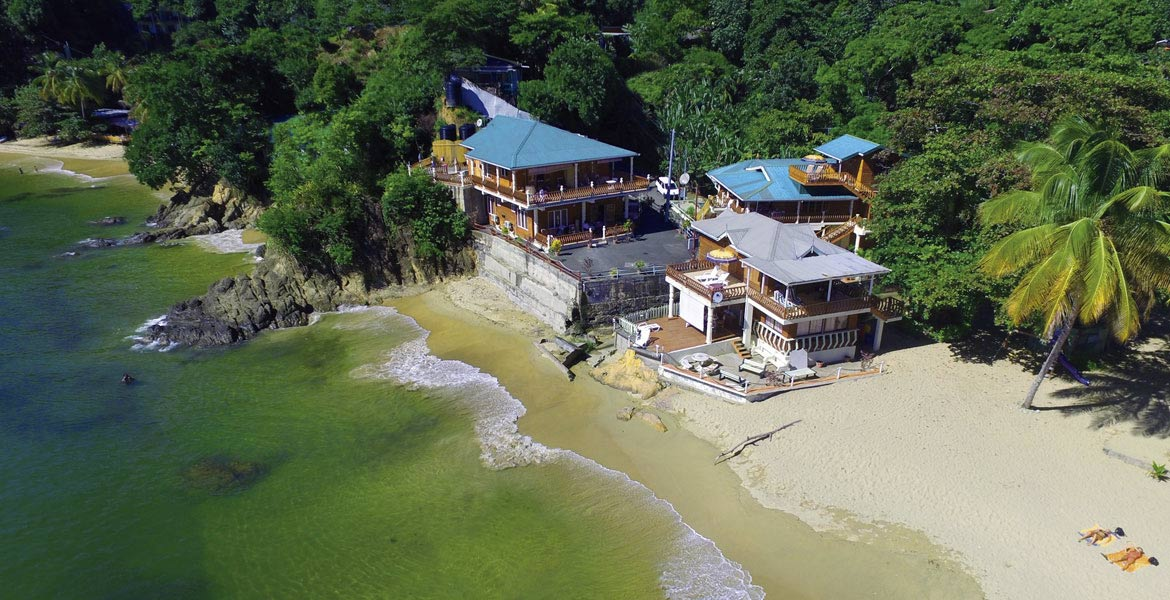 Naturalist Beach Resort - a myTobago guide to Tobago holiday accommodation