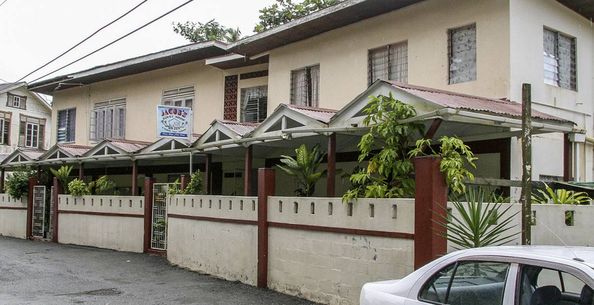 Jacob's Guesthouse - a myTobago guide to Tobago holiday accommodation