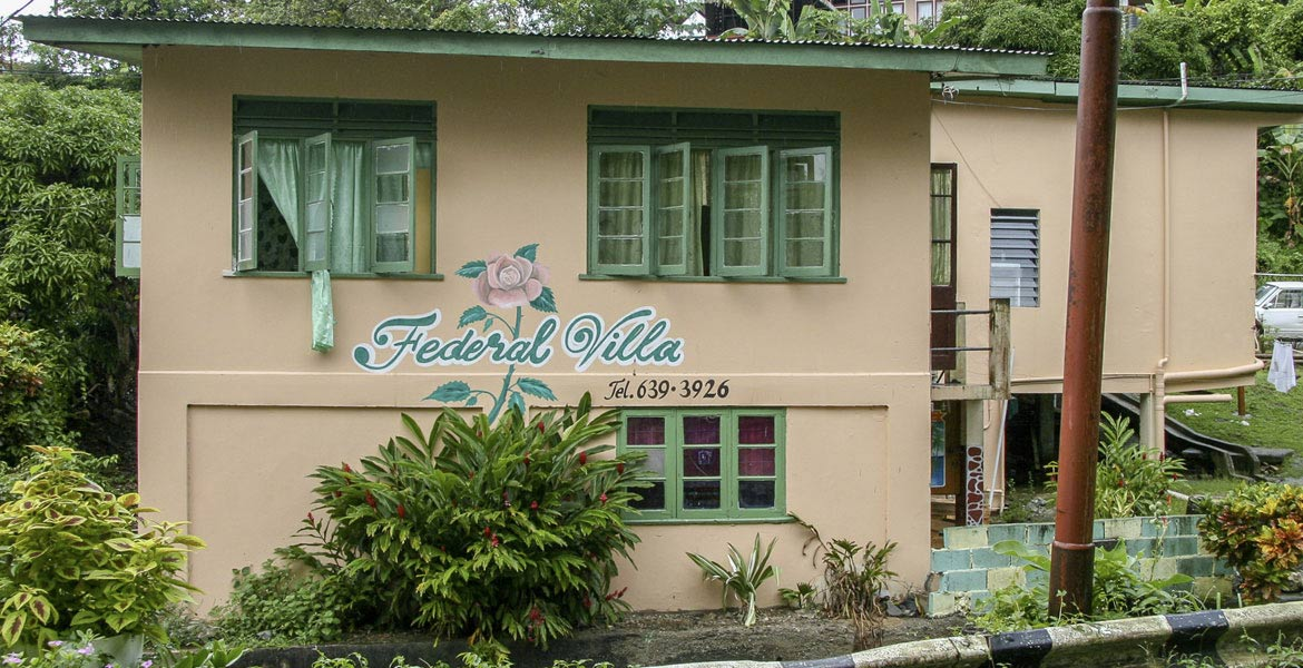 Federal Villa Guesthouse - a myTobago guide to Tobago holiday accommodation