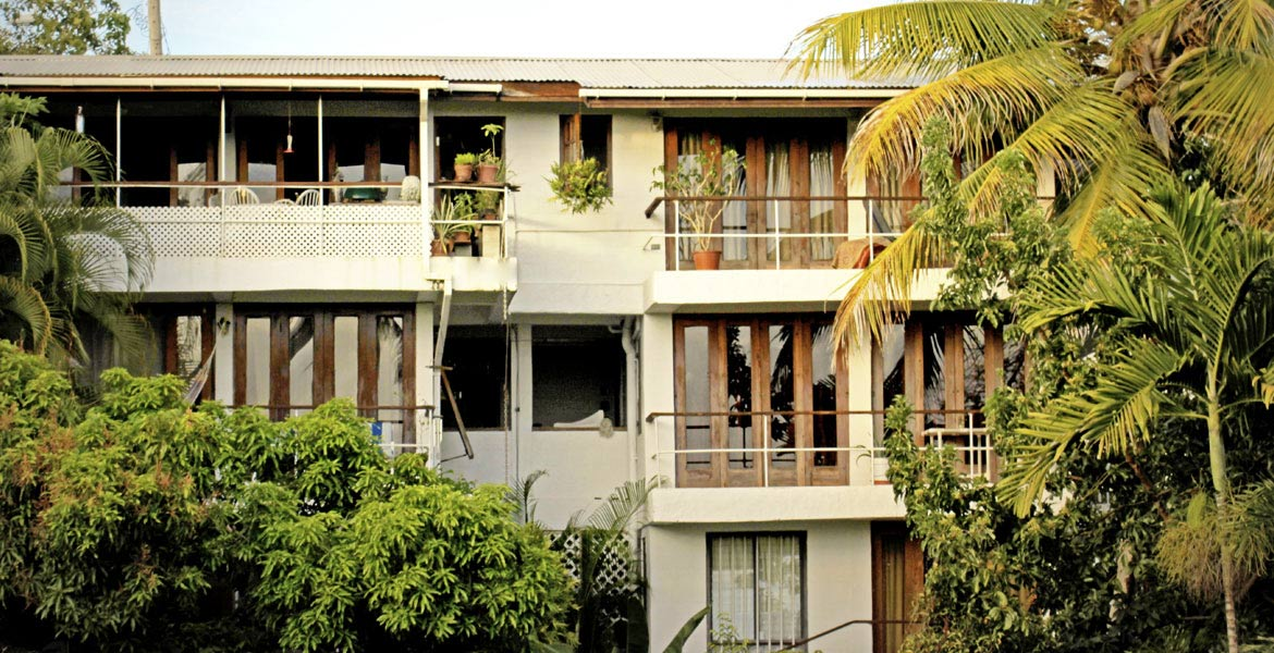 Three Palms Apartments - a myTobago guide to Tobago holiday accommodation