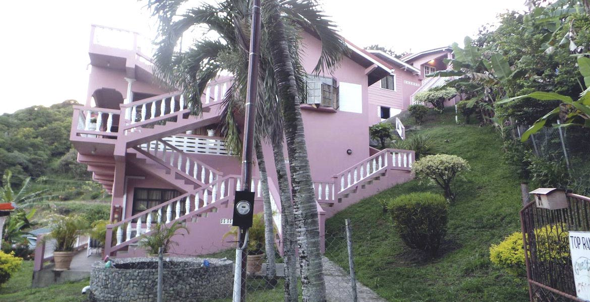 Top Ranking Hill View Guest House - a myTobago guide to Tobago holiday accommodation