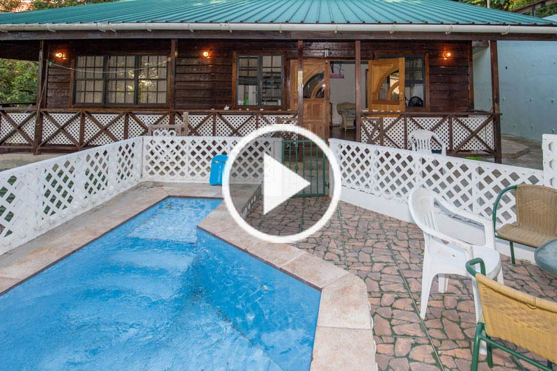 Self-Catering Apartment, Castara, Tobago