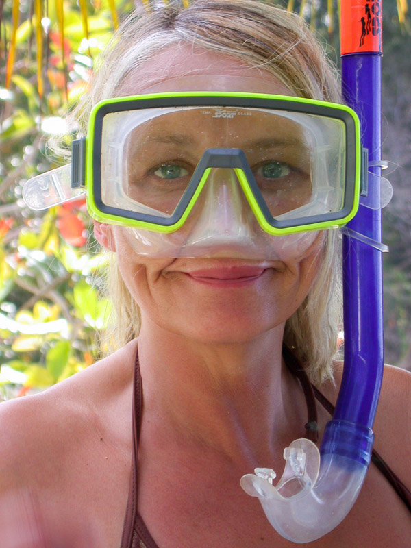 Snorkelling in Tobago