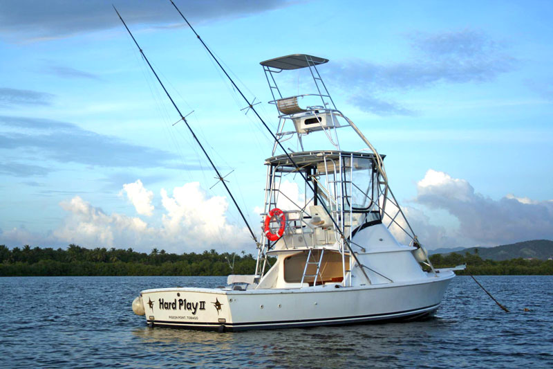 Hard Play Fishing Charters, Tobago