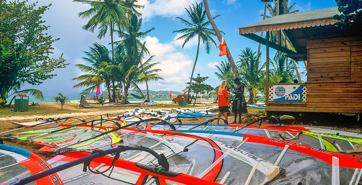 Radical Sports Tobago on Pigeon Point