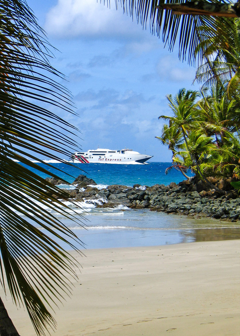 Trinidad to Tobago fast-ferry