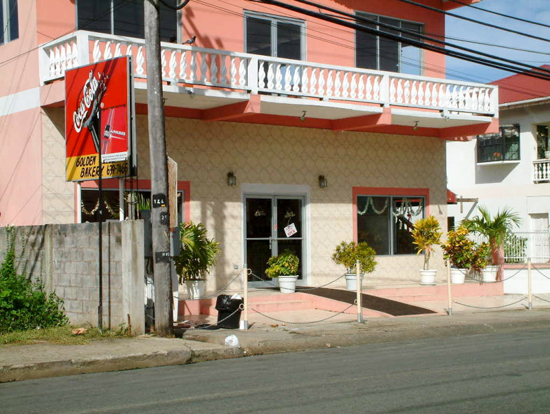 Golden Girls Bakery, Milford Road, Canaan, Tobago <small>(&copy; S.M.Wooler)</small>