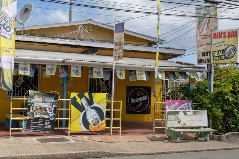 Ben's Bar, Crown Point, Tobago <small>(&copy; S.M.Wooler)</small>
