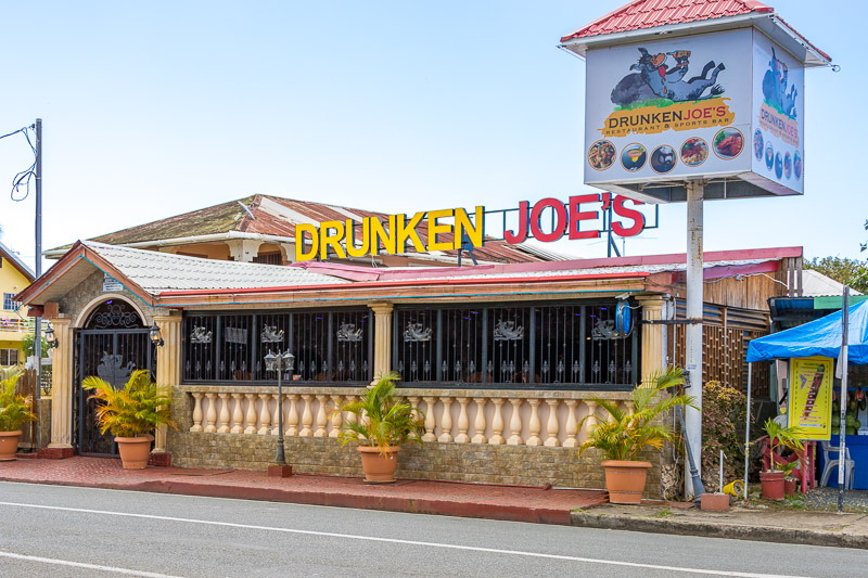 Drunken Joe's, Crown Point, Tobago <small>(&copy; S.M.Wooler)</small>