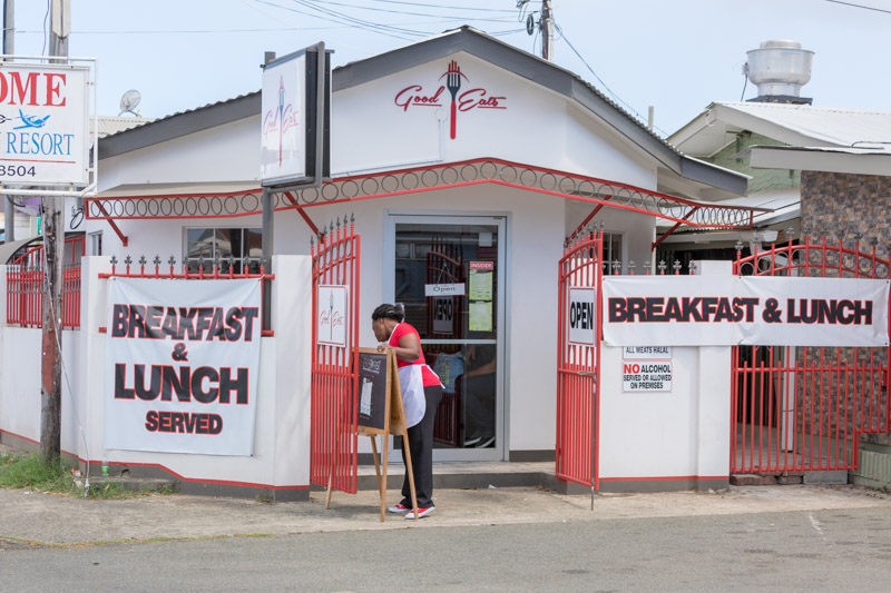 Good Eats, Crown Point, Tobago <small>(&copy; S.M.Wooler)</small>