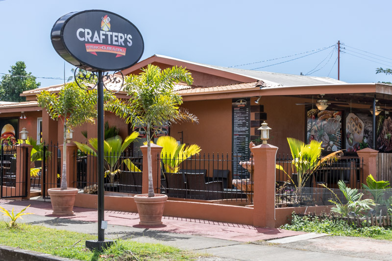 Crafters Steak House & Grill, Crown Point, Tobago <small>(&copy; S.M.Wooler)</small>