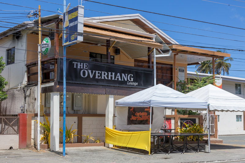 The Overhang Lounge, Crown Point, Tobago <small>(&copy; S.M.Wooler)</small>