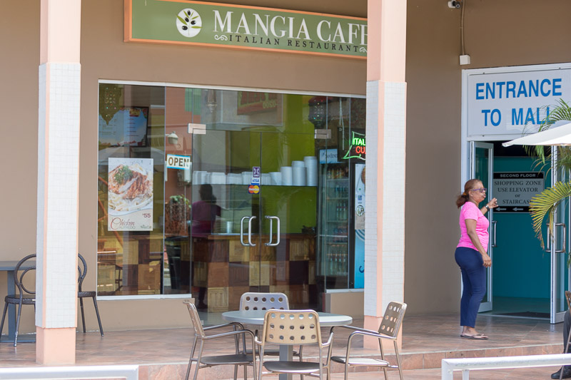 Mangia Cafe, Crown Point, Tobago <small>(&copy; S.M.Wooler)</small>