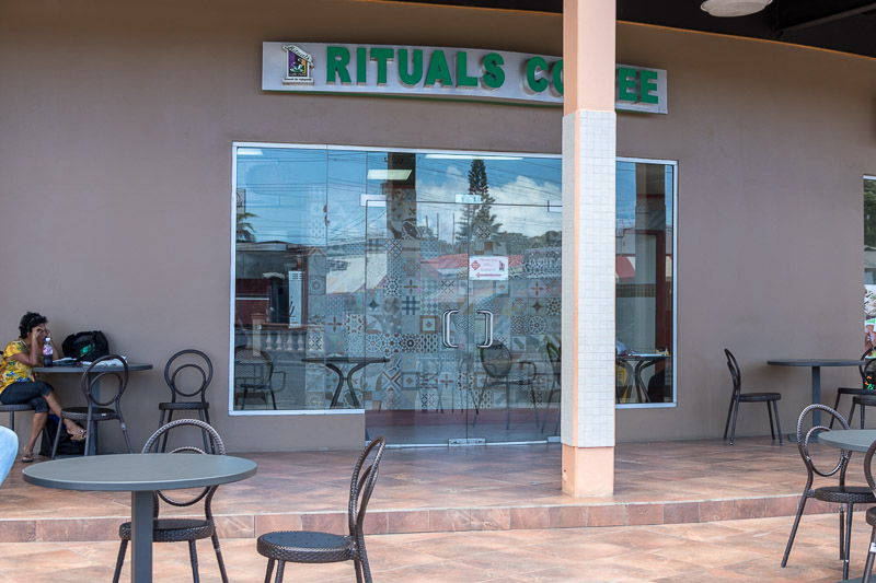 Rituals Coffee, Crown Point, Tobago <small>(&copy; S.M.Wooler)</small>