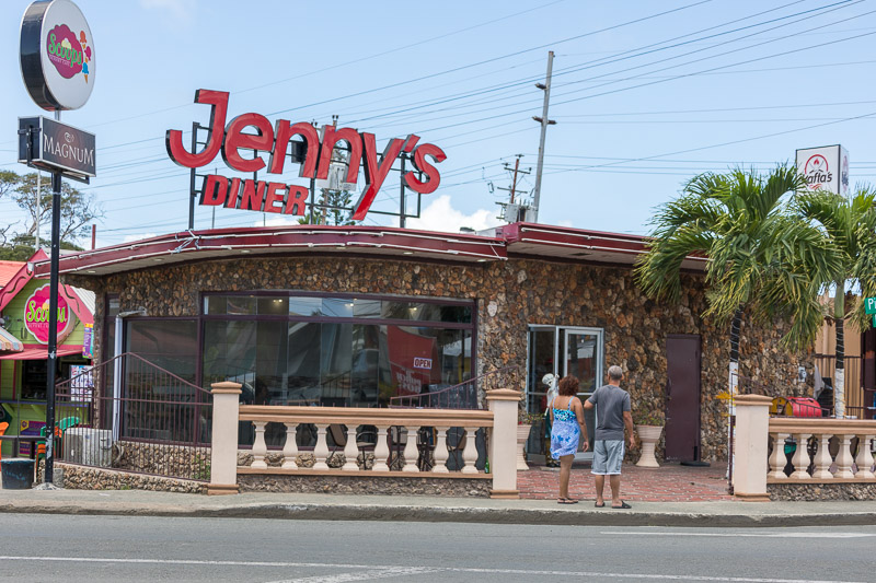 Jenny's Diner, Crown Point, Tobago <small>(&copy; S.M.Wooler)</small>