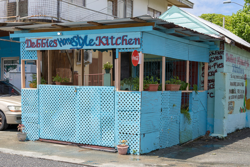Debbies Homestyle Kitchen, Plymouth, Tobago <small>(&copy; S.M.Wooler)</small>