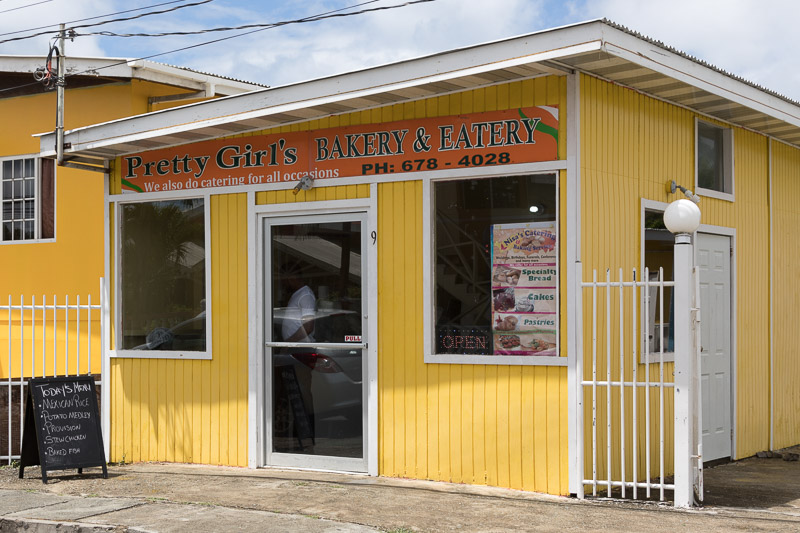 Pretty Girl's Bakery & Eatery, Plymouth, Tobago <small>(&copy; S.M.Wooler)</small>