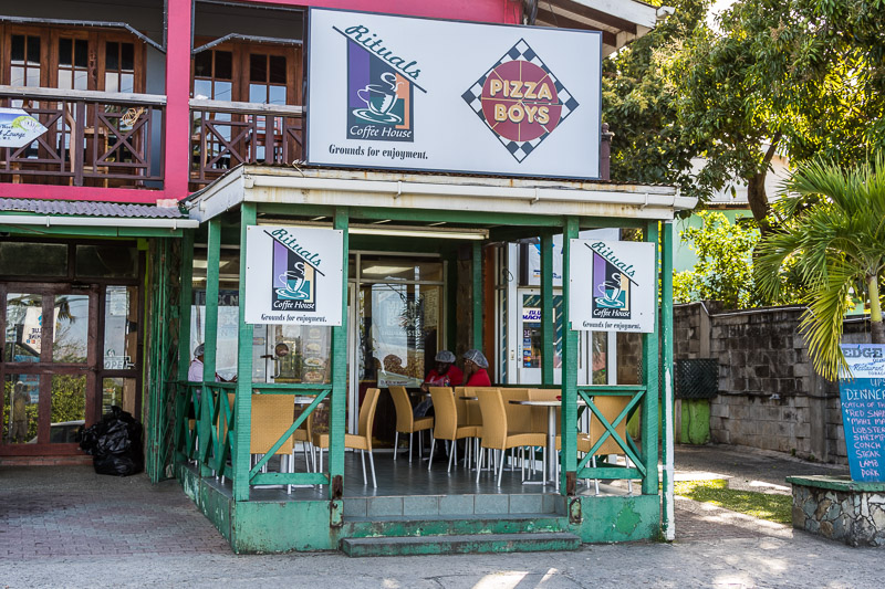 Pizza Boys, Pleasant Prospect, Tobago <small>(&copy; S.M.Wooler)</small>