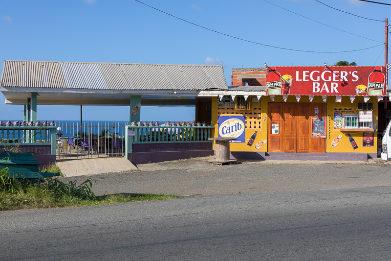 Legger's Bar & Restaurant, Mount Pleasant, Tobago <small>(&copy; S.M.Wooler)</small>