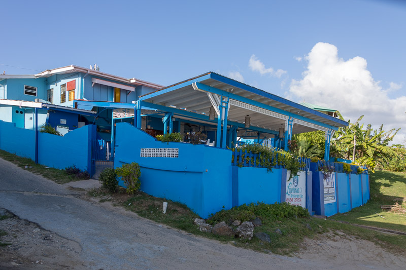 Luvinia's Seafood & Steak Restaurant, Buccoo, Tobago <small>(&copy; S.M.Wooler)</small>