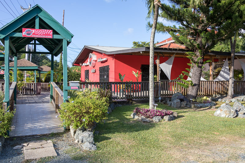Rev's Steakhouse & Bar, Buccoo, Tobago <small>(&copy; S.M.Wooler)</small>