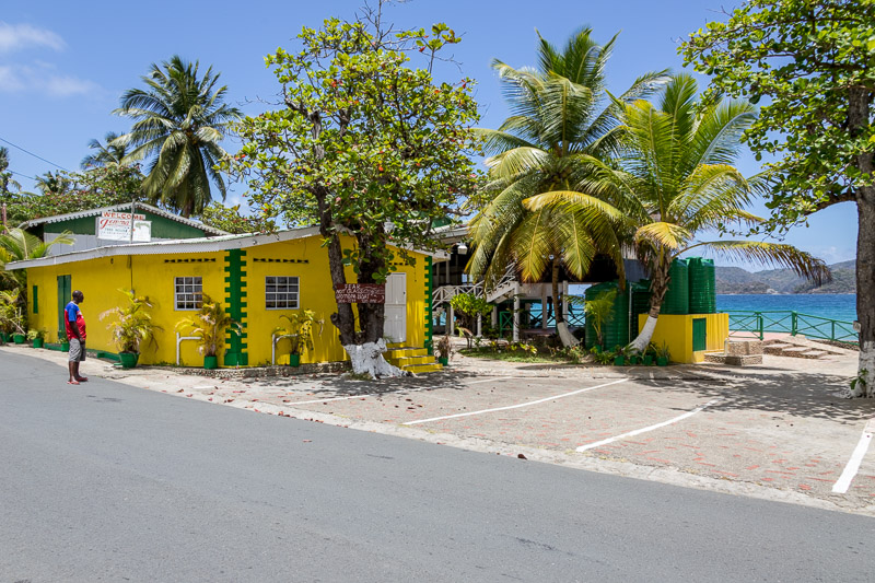 Jemma's Seaview Kitchen, Speyside, Tobago <small>(© S.M.Wooler)</small>