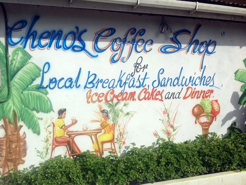Coffee Shop, Castara, Tobago