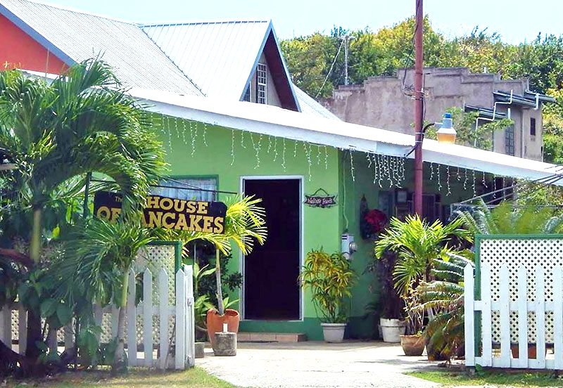 Original House of Pancakes, Crown Point, Tobago