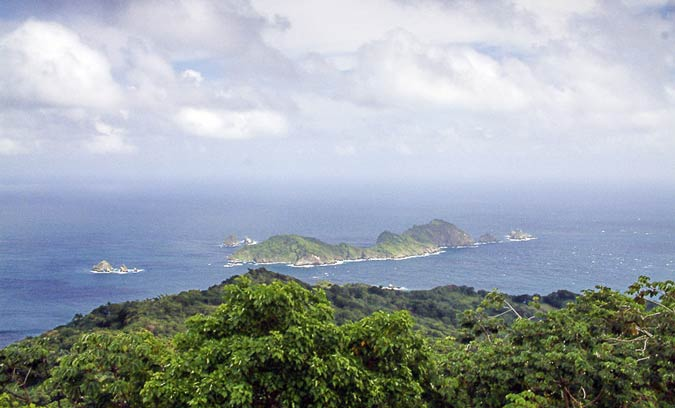 Views from Flagstaff Hill in Tobago