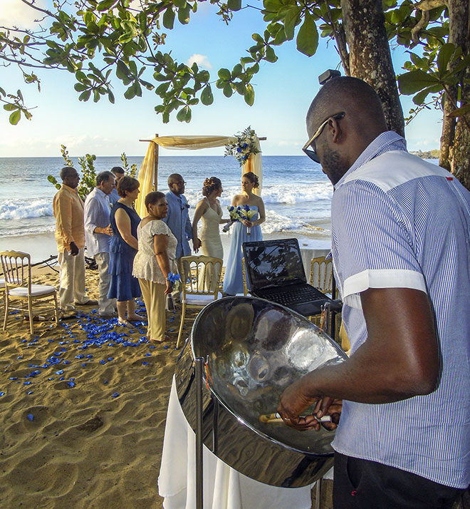 Tobago wedding